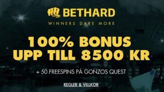 Få stor bonus med Bethard