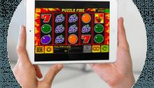 Fruktmaskin på iPad